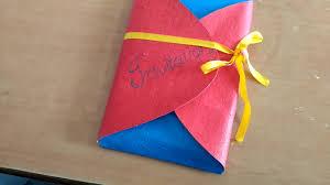 Handmade Farewell Invitation Cards Invitation Ideas For Farewell Youtube