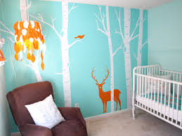 Nursery Room Theme Delectable Design Ideas Using Rectangular White Wooden Tables And