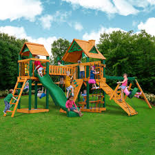 Cedar Playsets Outdoors Cedar Playset Gorilla Playsets Gorilla Play Sets