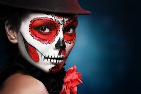 popular halloween skull makeup buy cheap halloween skull makeup