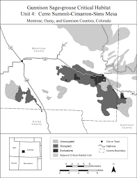Colorado Unit Map by Endangered Species Mountain Prairie Region U S Fish And