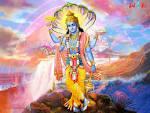 Wallpapers Backgrounds - Vishnu God Picture