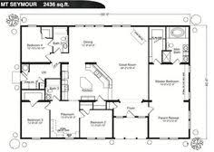 Single Story Open Concept Floor Plans Single Story Open Concept House Plans Google Search House And