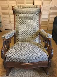 Antique Rocking Chair Prices Gooseneck Rocking Chair For Sale Antiques Com Classifieds
