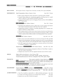 Resume Samples Of Software Engineer by Could We Create A Basic Undergrad Resume Cscareerquestions