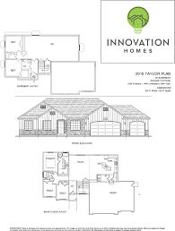 Garage Depth Taylor Plan 3080 Sqft U2013 Innovation Homes