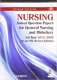 Buy Nursing Solved Question Papers for General Nursing and