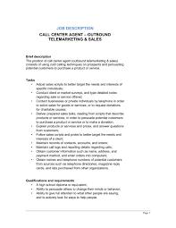 Resume For Call Center Jobs by Call Center Agent Outbound Telemarketing U0026 Sales Job Description