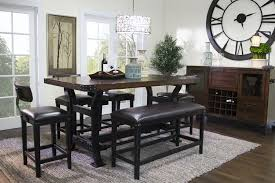 Dining Living Room Furniture Mor Furniture For Less The Iron Works Counter Height Dining Room