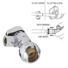 how to install a water shutoff valve