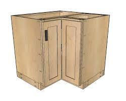 Ana White  Corner Base Easy Reach Kitchen Cabinet Basic - Corner kitchen base cabinet