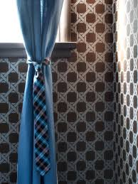 10 creative ways to use household items as curtain hardware hgtv