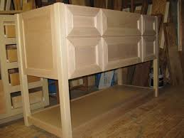 Furniture Kitchen Cabinet Unfurnished And Unfinished Custom Diy Oak Kitchen Cabinet With
