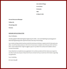 Example Of Resume Application Letter  resume and application     Cover Letter Templates