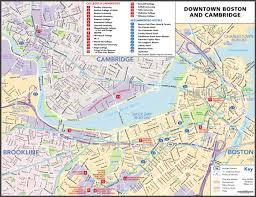 T Boston Map by Maps Update 21051488 Tourist Map Of Boston U2013 Boston Printable