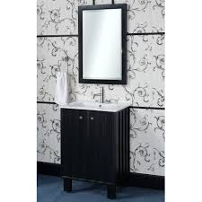 24 Inch Bathroom Vanity Combo by In Series 24 Inch Traditional Single Sink Bathroom Vanity Black Finish