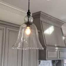 mini pendant lights for kitchen island extra large glass bell pendant light kitchen inspiration estess