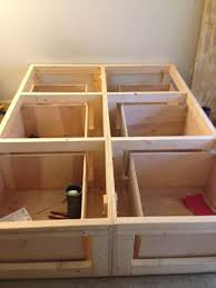 Build Your Own Platform Bed Base by Best 25 Bed With Drawers Ideas On Pinterest Bed Frame With