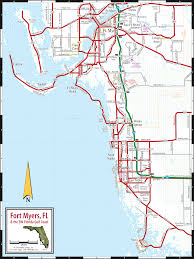 Map Of Florida Cities And Towns by Fort Myers U0026 Naples Fl Map