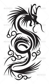 Management Tattoo  koi design tattoo poem tattoos for men chest     Tribal dragon GraphicRiver Item for Sale tribal dragon illustration