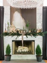 deco nature chic 28 christmas mantel decorating ideas hgtv