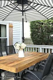 best 25 wood patio furniture ideas on pinterest outdoor