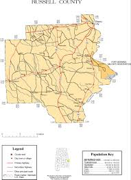 Virginia On Map by Maps Of Russell County