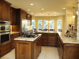 Antiqued Kitchen Cabinets by Decor U0026 Tips Small Kitchen Island And Cooktop With Downdraft With