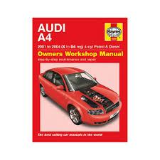 haynes manual audi a4 1 8t 2 0 petrol 1 9 turbo diesel 01 04 x to