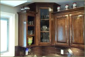 Height Of Kitchen Cabinet by Stacked Upper Kitchen Cabinet Pictureinstalling Ikea Cabinets Ada