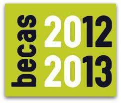 Becas 2012-2013
