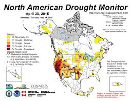 Drought Map Usa by Drought April 2016 State Of The Climate National Centers For