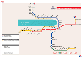 Metro Lines Map by Izmir Metro Map Turkey