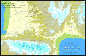 Map Of France And Spain by Combe Capelle A Neanderthal Site In Southern France