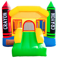 halloween bounce house inflatable crayon bounce house castle jumper moonwalk with blower