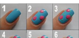 nail art for a spring mood beauty zone
