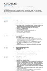 Best Java Developer Resume by Software Engineer Resume Examples Berathen Com