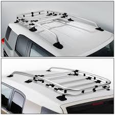 Ford Explorer Roof Rack - amazon com toyota fj cruiser silver coated aluminum roof rack