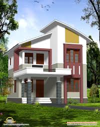 modern simple design of a low cost house in kerala home design