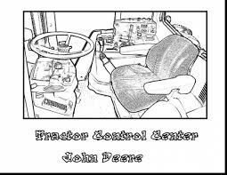 amazing john deere tractor coloring pages with john deere coloring