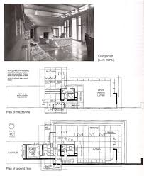 Frank Lloyd Wright Plans For Sale by Bachman Wilson House 1423 Millstone River Road Millston New