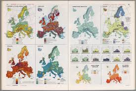 Thematic Maps Europe Not Including U S S R Thematic Maps David Rumsey