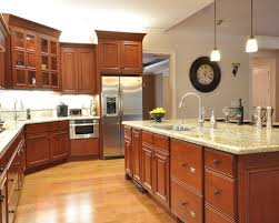 cherry cabinets in kitchen cherry cabinet hardware houzz