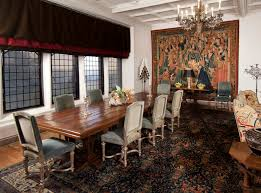 the dining room at rough point was significantly altered by the