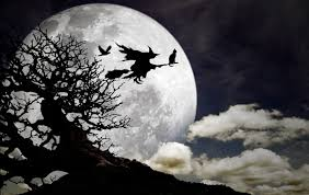 halloween background of wich a bewitching history why witches ride broomsticks