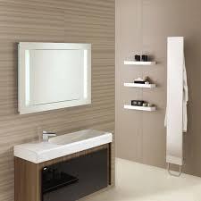 Bathroom Mirror Ideas On Wall Wood Bathroom Mirror Frames Tomichbros Com