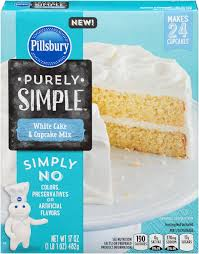 pillsbury purely simple white cake food and drink pinterest