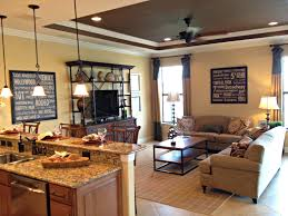 20 best small open plan magnificent small kitchen living room