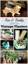 Home Decor Vintage Alternative Uses For Vintage Planters Repurpose Planters And