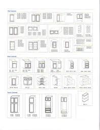 standard kitchen cabinet sizes us modern cabinets
